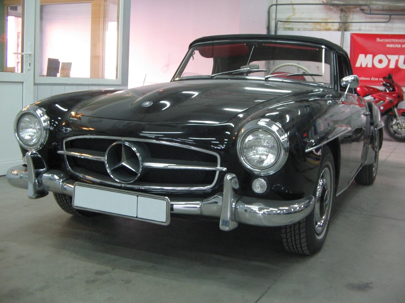 Mercedes Benz 190SL 1962 1