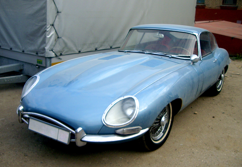 Jaguar E-TYPE 1963 г.в.
